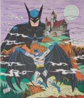 The Batman by Sheldon Moldoff, Comic Art